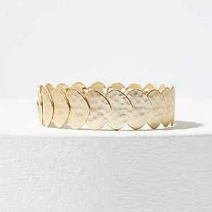 New Ann Taylor Loft Hammered Stretch Bracelet